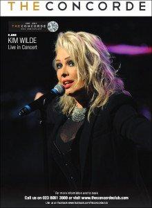 Kim Wilde More live dates (2017)