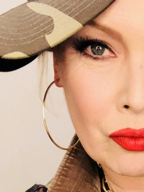 "Kim Wilde : ""Pop don't stop"" video shooting"