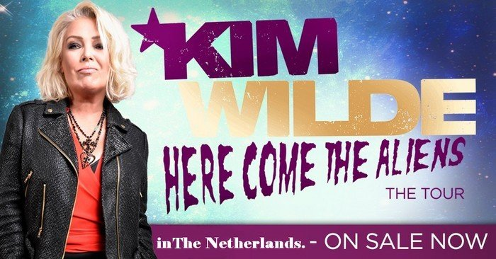 Kim Wilde More Live Dates 2018